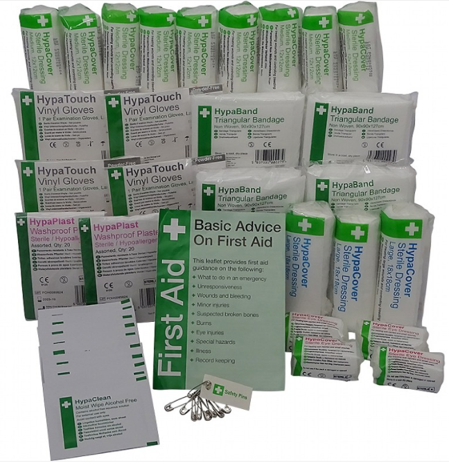 11-20 Person Hse First Aid Kit Refil