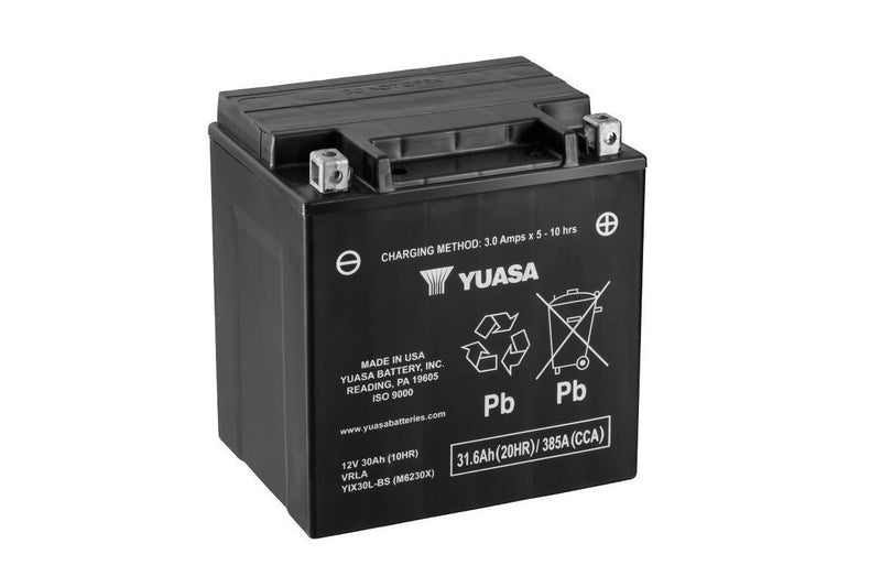 YIX30L-BS-PW (CP) 12V Yuasa High Performance MF VRLA Battery