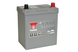 Yuasa YBX5054 Silver High Performance SMF Battery - 5 Year Warranty