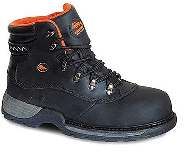 Brand New WORKFORCE HyDry Waterproof Safety Steel Toe Cap Leather Boots SizeUK8