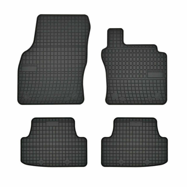 Premium Heavy Duty Rubber Tailored Car Mats Ford Focus 2015>