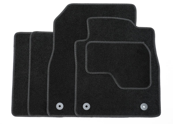 Premium Tailored Black Carpet Mats for Ford Kuga 15>