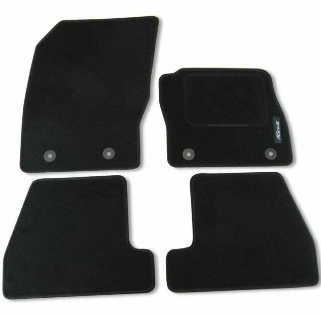 Genuine Ford Focus MK3 2015> Black Carpet Front & Rear Mats