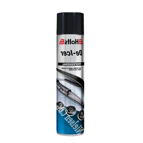 Holts Car Windscreen De-Icer Aerosol Spray Can 600ml Fast Acting