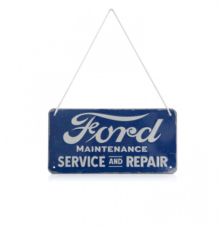 Ford Lifestyle Collection New Genuine Ford Service Hanging Sign 35030379