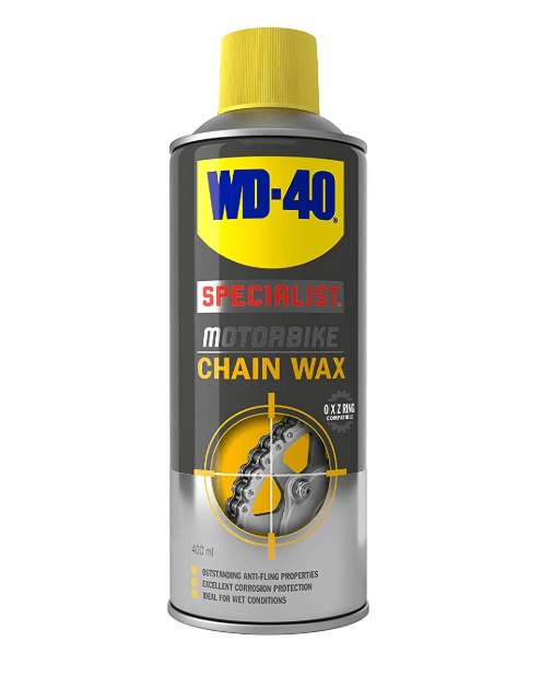 Wd-40 Specialist Motorbike Chain Wax - 400ml (5482476929177)