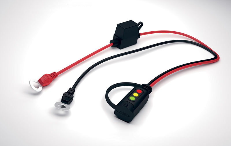 LED Charge Indicator - 0.55m Cable with M6 Eyelet