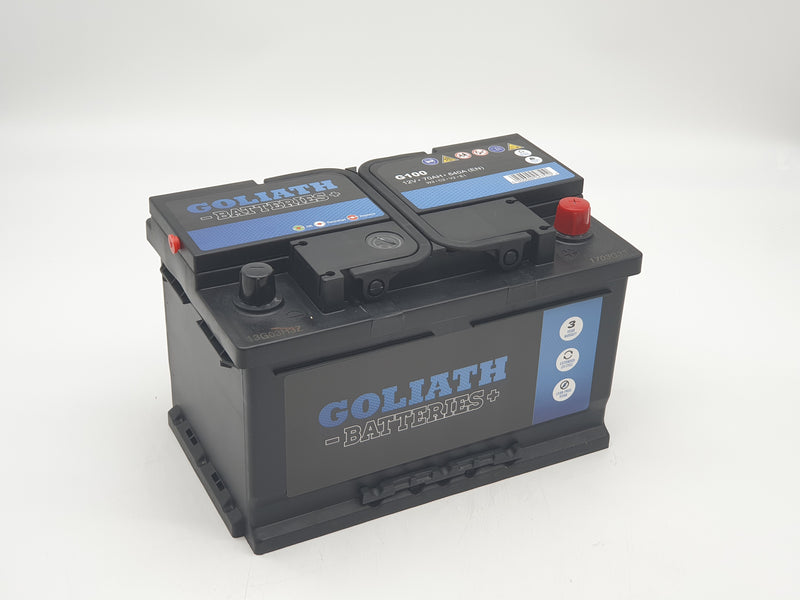 Goliath G100 70Ah 640A - 3 Year Warranty