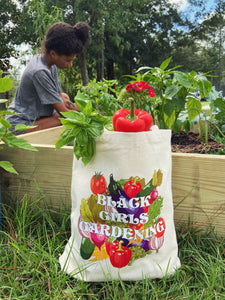 BlackGirlsGardening Tote Bag