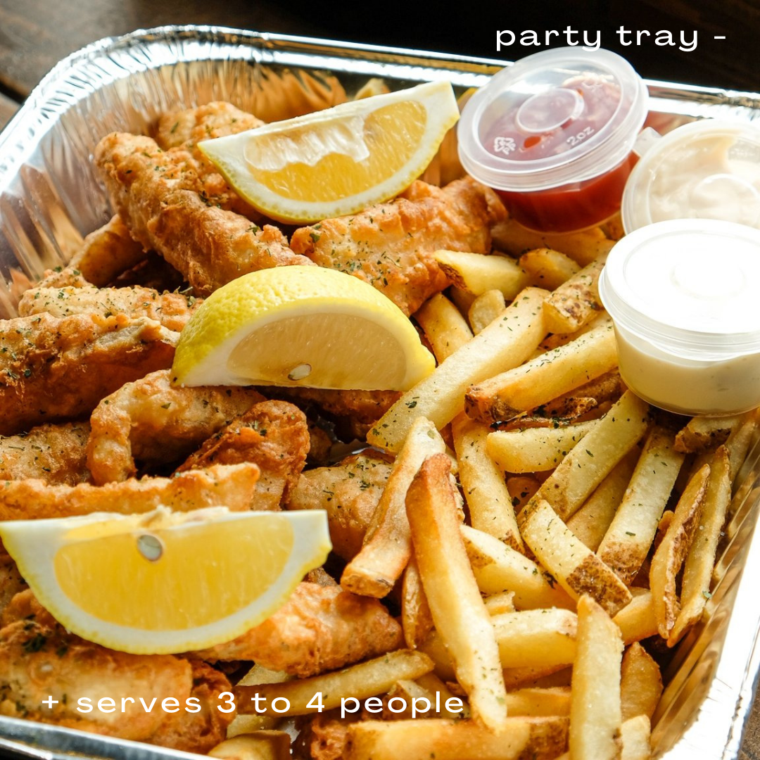Fish and Chips Party Tray