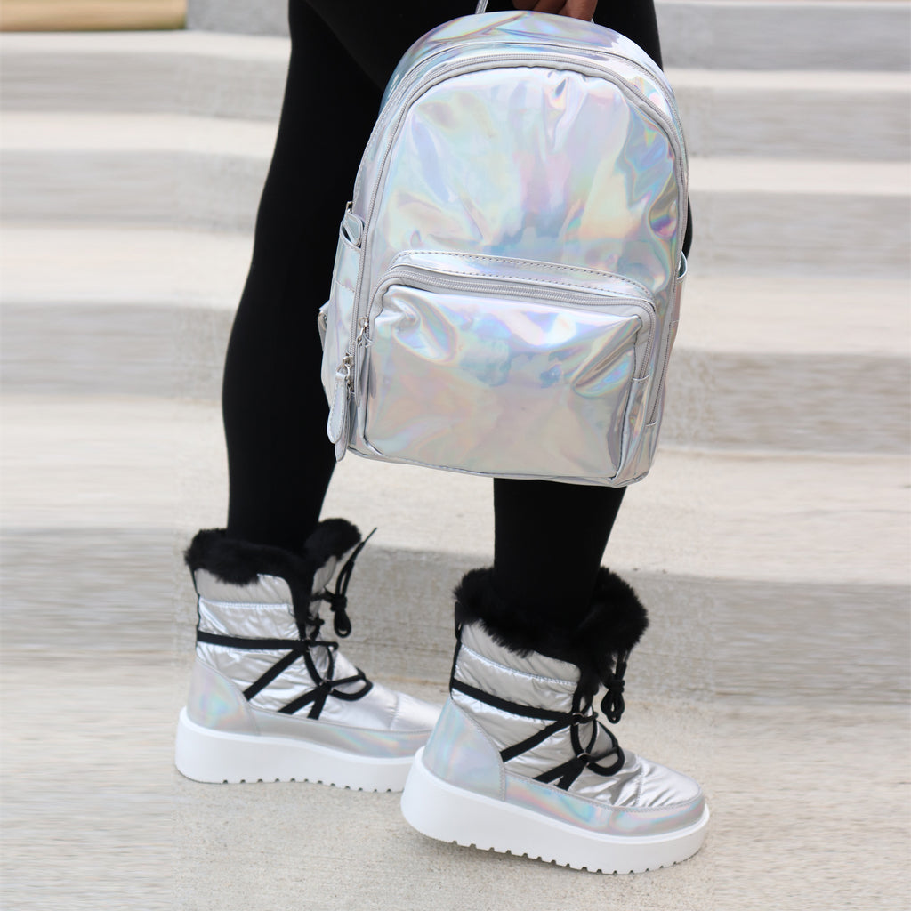 CELENA HOLOGRAPHIC BOOTS