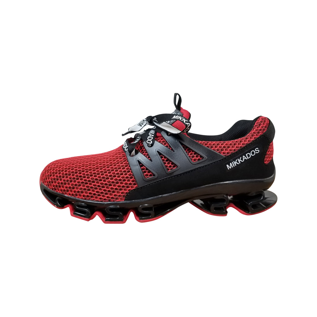 MIKKADOS RED ULTRA 360's UNISEX SNEAKERS