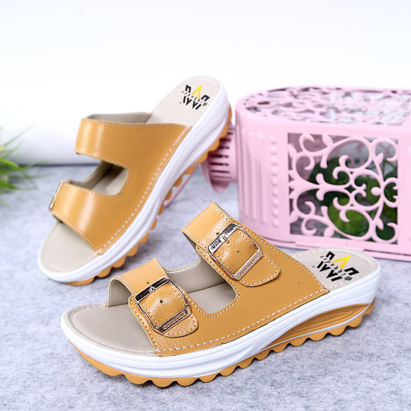 "MIKKADOS ORANGE  ""MYA"" SLIDES"