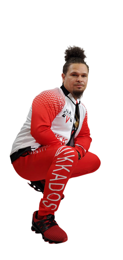 "MIKKADOS RED ""FLAME"" TRACKSUIT"