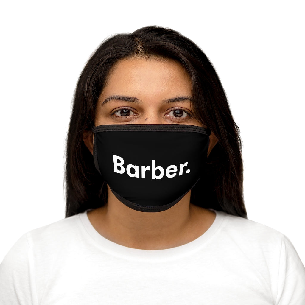 Barber. Mixed-Fabric Face Mask
