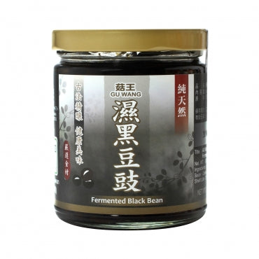 Gu Wang All Natural Vegan Fermented Black Bean 菇王 純天然濕黑豆鼓
