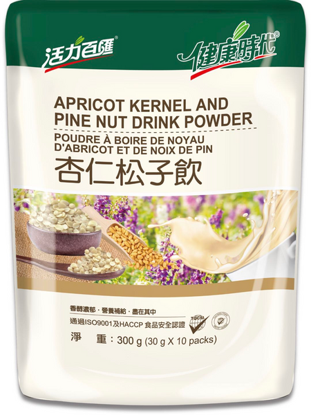 HealthStyle Apricot Kernel and Pine Nut Drink Powder 健康時代 杏仁松子飲