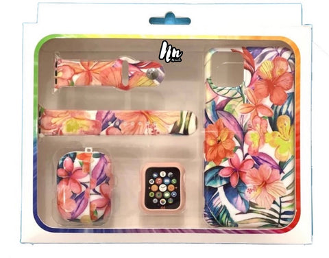 Gifts For Her 4pc Floral Set