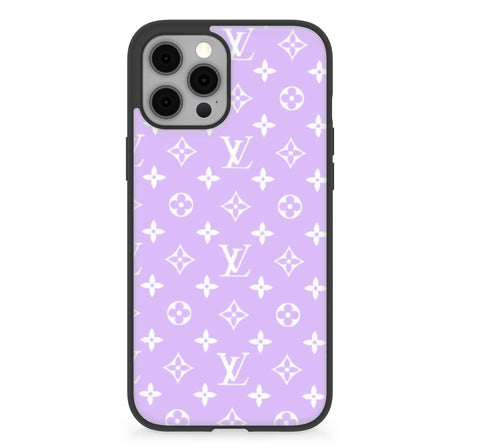 Luxury purple  Case For iphone