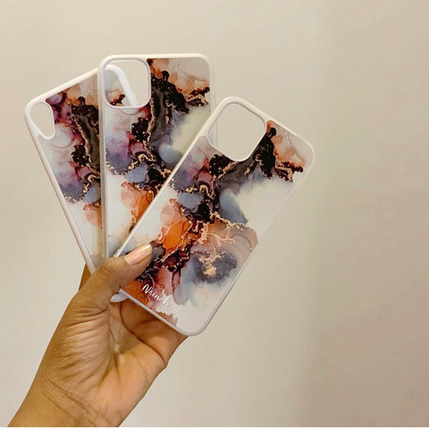 Art Marble Design Case For iphone