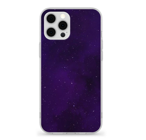 Purple Night Sky Case For iphone