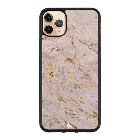 Pink Rose Gold Marble Case
