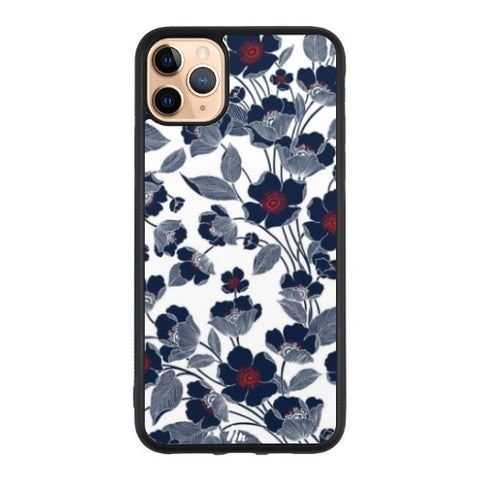 Floral blue iPhone 11 Pro Max case