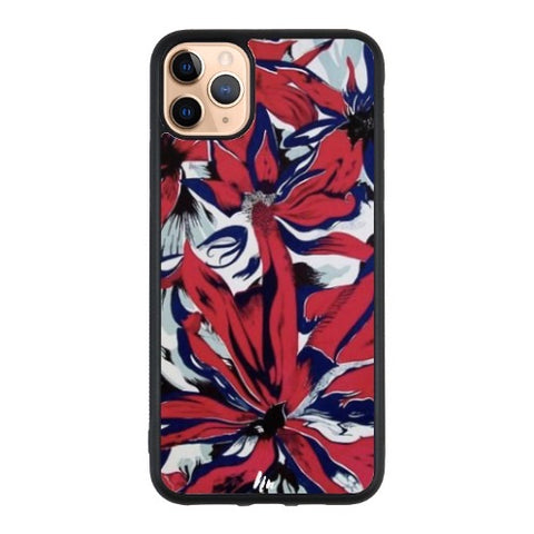 Red Flower paint Case