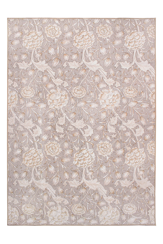 Kalini Floral Natural Washable Rug