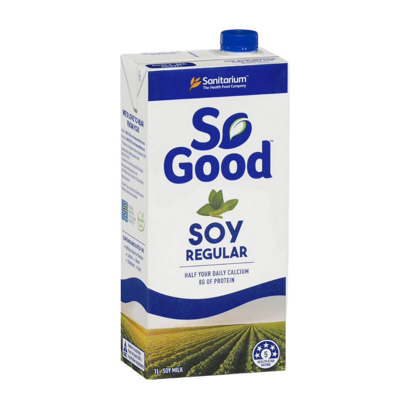 So Good Soy Milk 1L | Sanitarium | Zenko