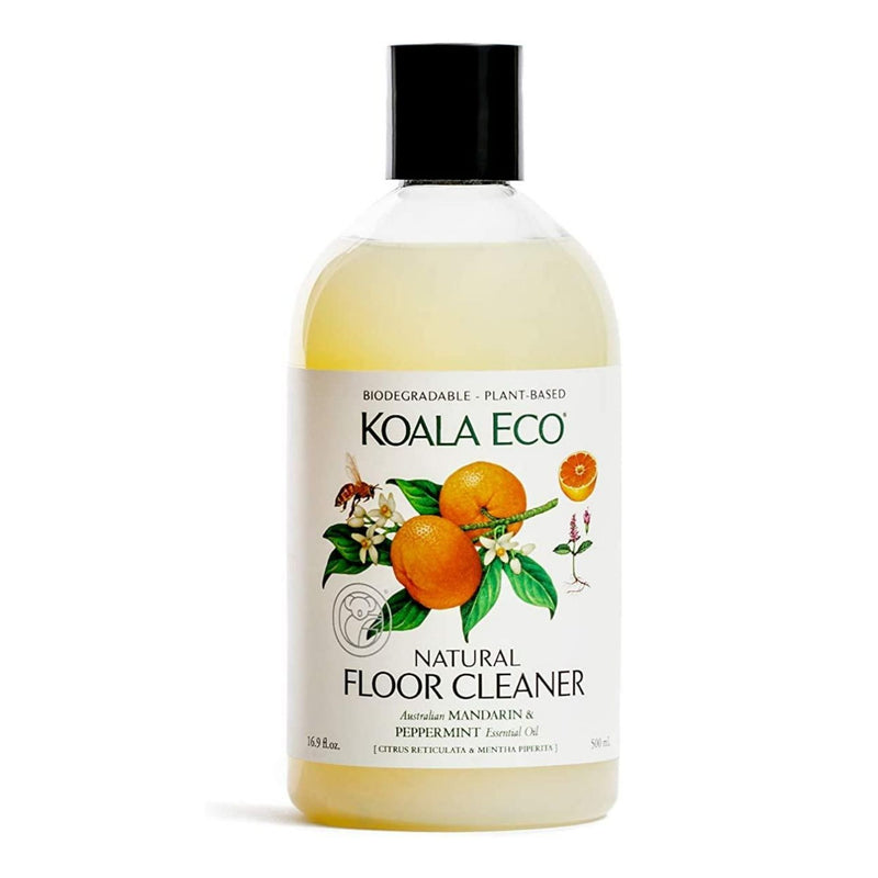 Floor Cleaner Mandarin & Peppermint - 500ml | Koala Eco | Zenko