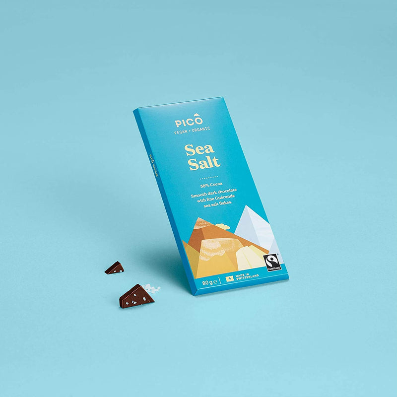 Sea Salt Chocolate 80g