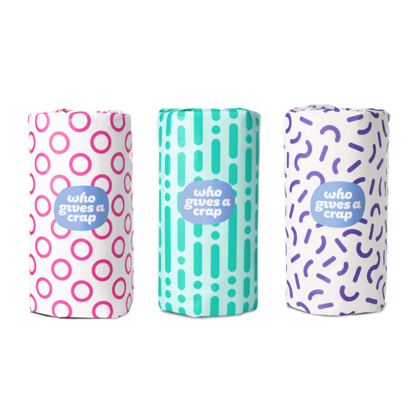 Paper Towels - 6 Double Length Rolls | Who Gives a Crap | Zenko