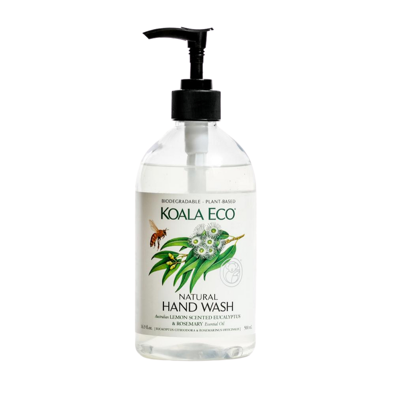 Hand Wash Lemon, Eucalyptus & Rosemary 500ml | Koala Eco | Zenko