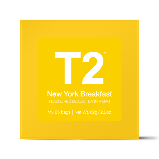 New York Breakfast Teabag Gift Cube | 25 Tea Bags