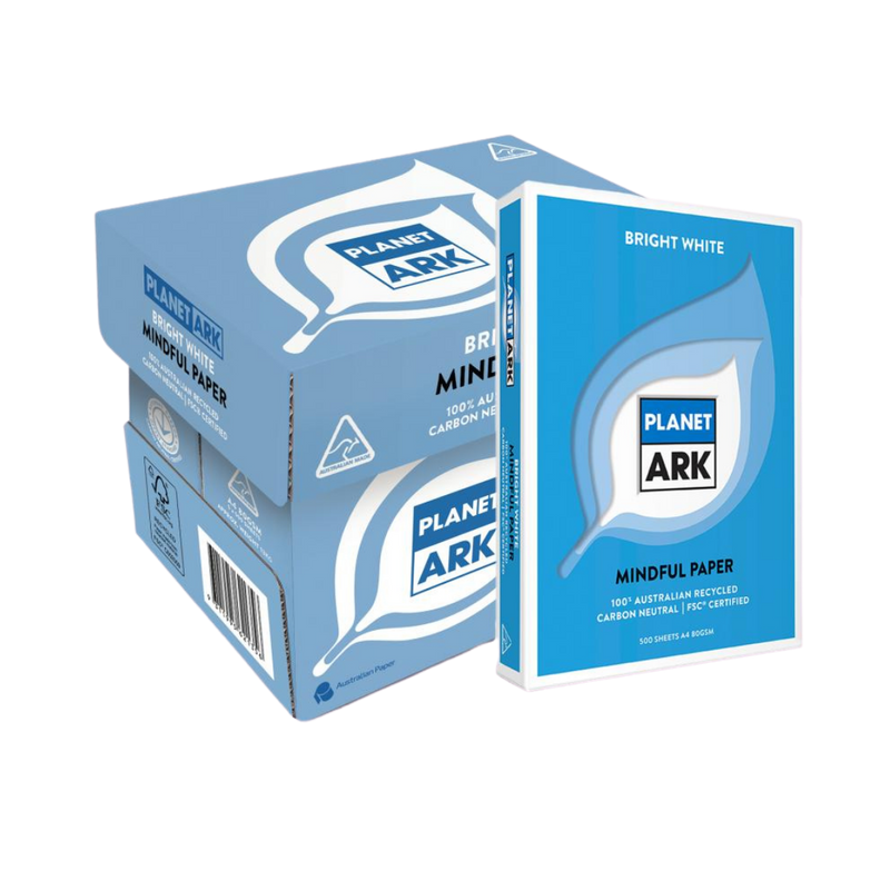 100% Recycled & Carbon Neutral A4 Paper Carton | Planet Ark | Zenko