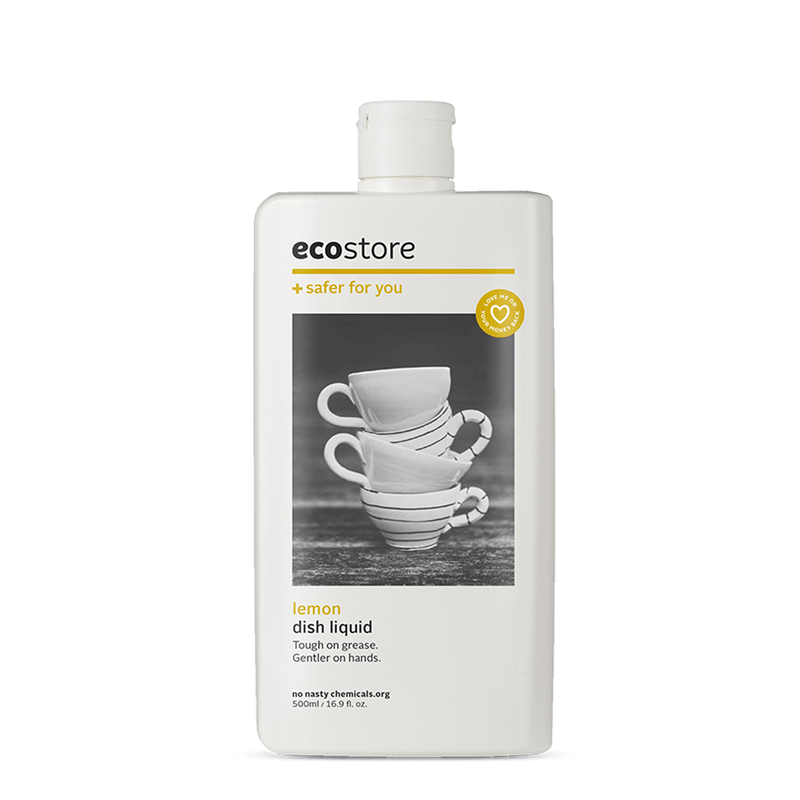 Dish Liquid Lemon - 500ml | Ecostore | Zenko