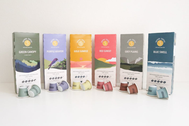 Compostable Coffee Pods Sample Pack (60 Capsules)