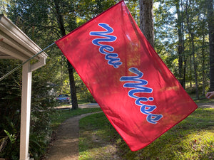 Limited Edition Red New Miss Flags- one sided printing 3x5 feet