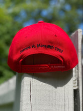 Load image into Gallery viewer, FLAT BRIM New Miss Baseball Hat- (with green under side of brim)