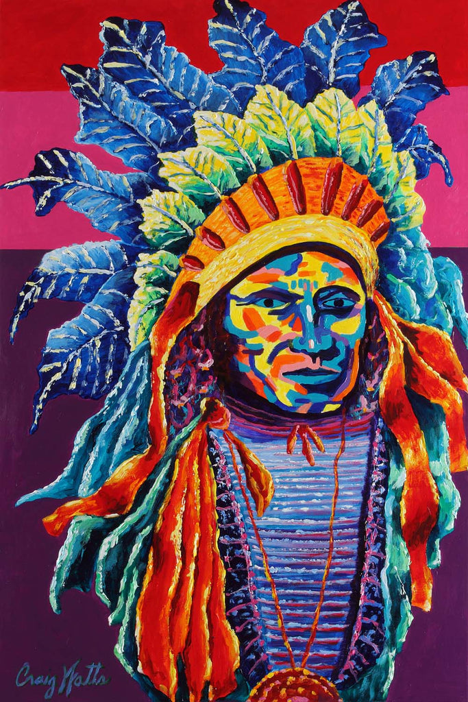 Chieftain of Many Colors
