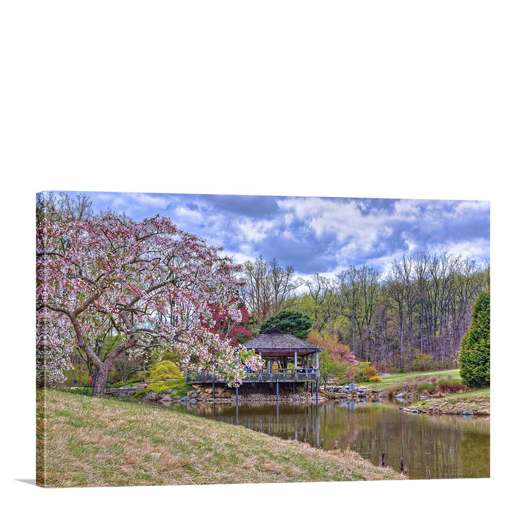 Tea House in Spring