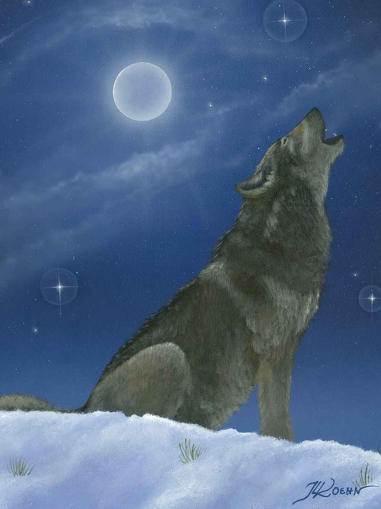 Howling in the Moonlight