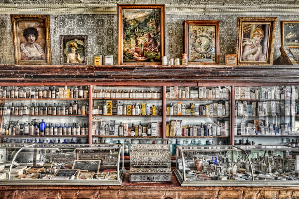 The Drug Store Counter