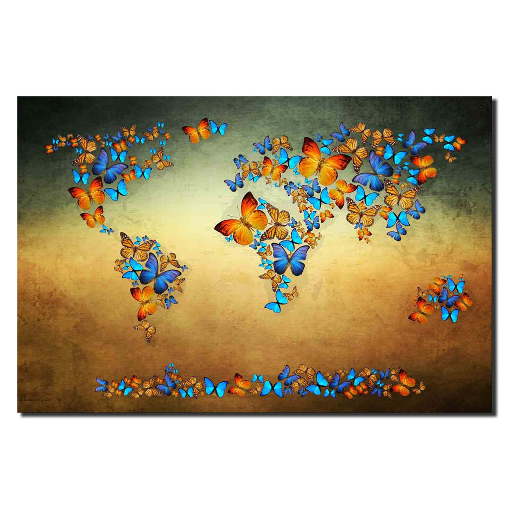 Butterfly World Map III