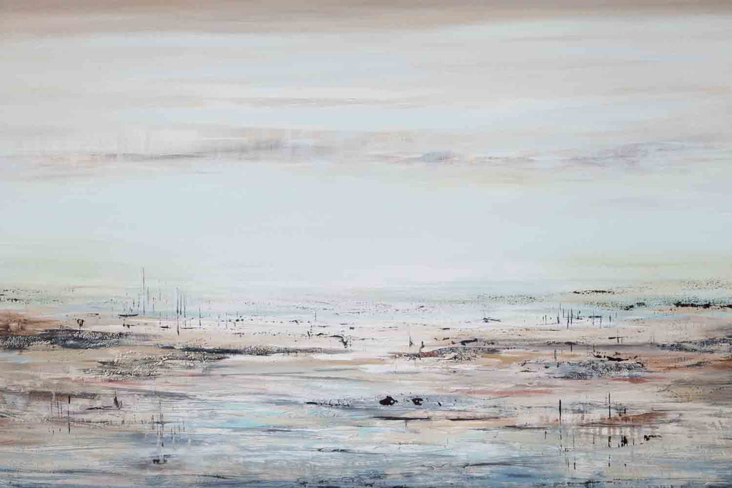 Seascape with seagrass