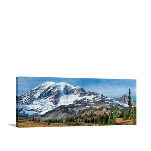 Mazama Ridge Panorama in Mount Rainier