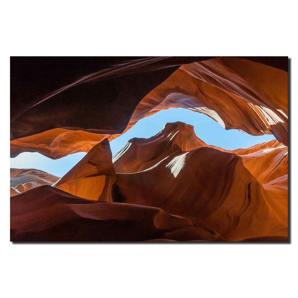 Blue Sky Slot over, Lower Antelope Canyon