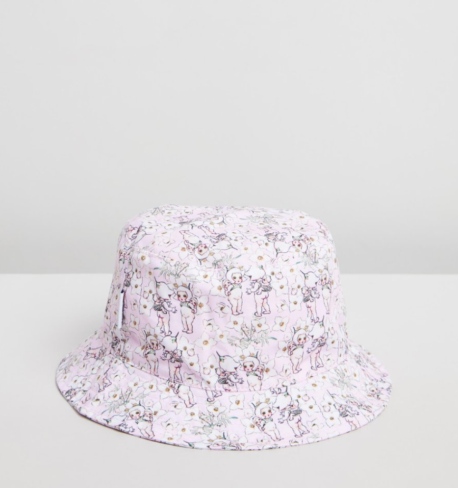May Gibbs spring floral MINI hat - infant