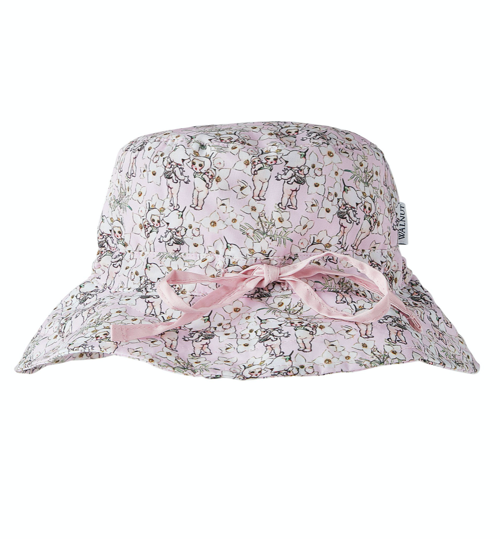May Gibbs spring floral hat - Kids